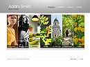 White folio GalleryAdmin flash templates