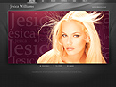 Model Personal Flash Photo & Video Gallery Template