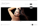 Real Faces - HTML5 Gallery Admin, HTML5 Gallery Admin website templates