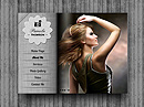 Personal folio - HTML5 Gallery Admin, Art flash templates