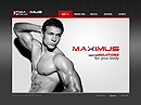 Fitness Center VideoAdmin flash templates