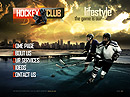 Hockey Club VideoAdmin flash templates