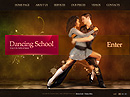 Dancing School VideoAdmin flash templates