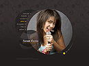 Singer folio VideoAdmin flash templates