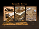Carpenter - VideoAdmin flash templates, INTERIOR DESIGN & FURNITURE website templates