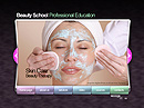 Beauty school VideoAdmin flash templates
