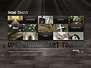 Jesus Church VideoAdmin flash templates