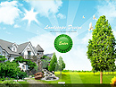 Landscape design - VideoAdmin flash templates, Video web sharing  flash site design