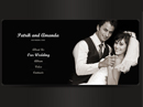 Our Wedding - VideoAdmin flash templates, Video web sharing  flash site design