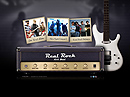 Real Rock Band - VideoAdmin flash templates, Video web sharing  flash site design